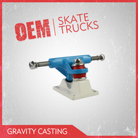 Top Sale Die Casting 3.25inch Skateboard Truck for Plastic Decks