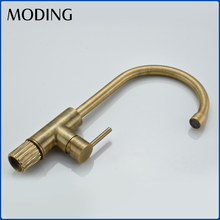 MODING Manufacturer Made Single Handle Hot Water Kitchen Sink Mixer Tap Faucet