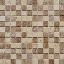 Instant natural stone mosaic tiles with adhesive self stickerfor wall decoration