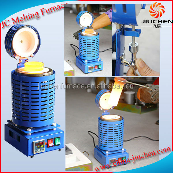 110V 1KG Electric Portable Jewelry Making Machine