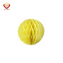 Hot fashion hanging paper honeycomb ball for wedding decoration