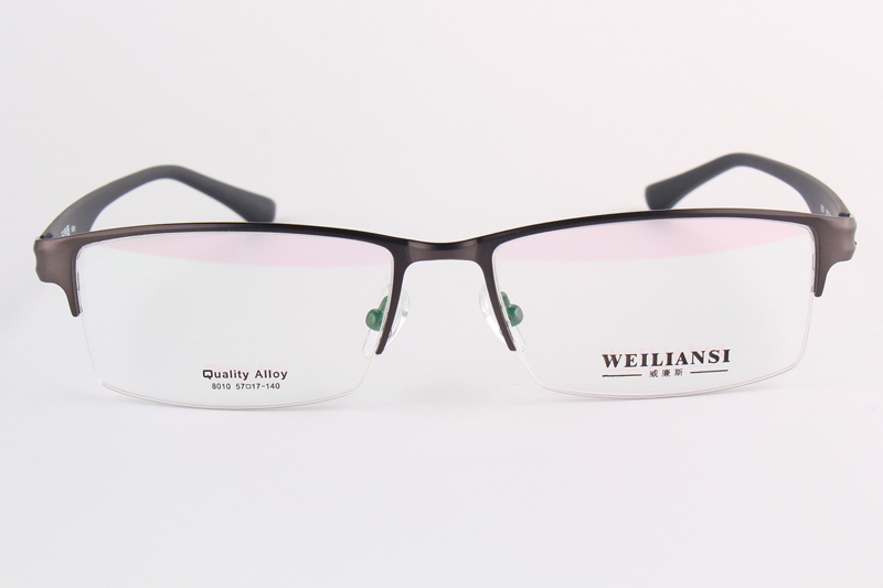 Buy 2015 New Alloy Eyeglass Frames Half Rimmed TR 90 Temple Men&#39 ...