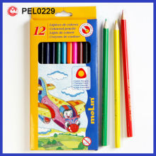 12pcs Box Pack Wooden Color Pencil