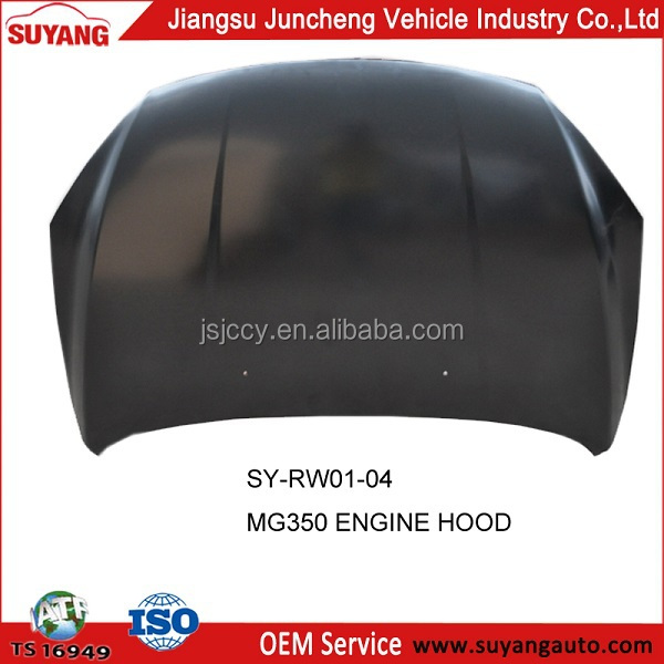 Car Body Part Engine Hood Supplier for MG 350