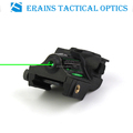 New Updated Tactical Sub compact rechargeable pistol green laser sight with quick push on off switch