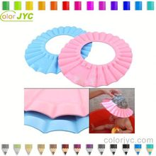 J028 children keep water off face shower cap