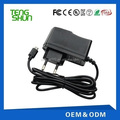 TengShun portable 6v1a lead acid battery charger for 6v 4ah battery