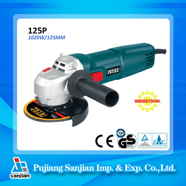 Power Tools Manufacturer 1020W 125MM Angle Grinder 125P Fast delivery