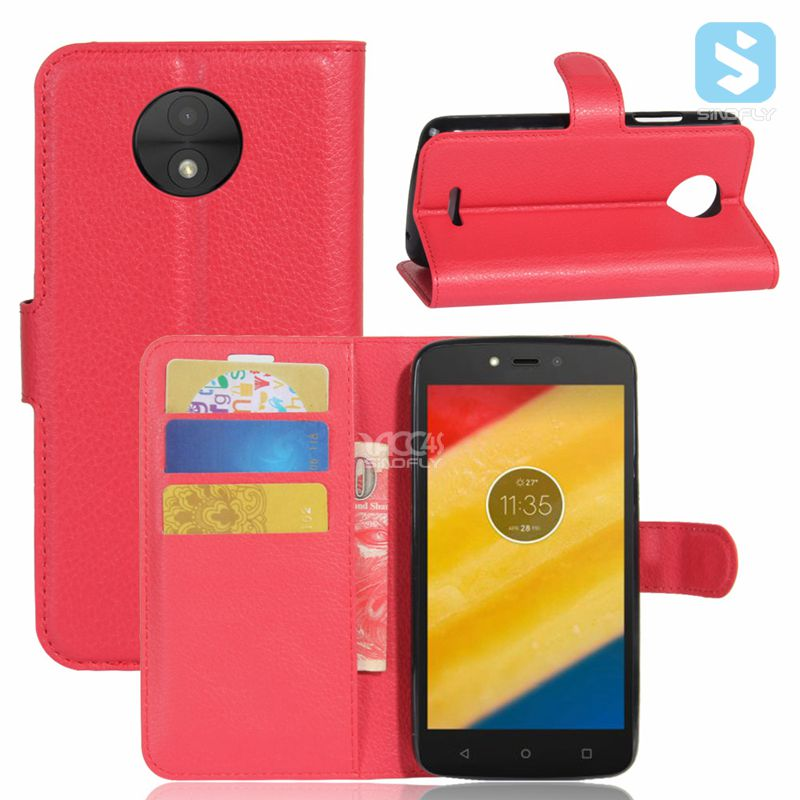 for MOTOROLA MOTO C phone pu leather wallet flip magnet case cover with card slot