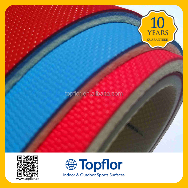 Durable Indoor Rubber Floor Mat Table Tennis Flooring