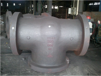 steel casting large bore valve
