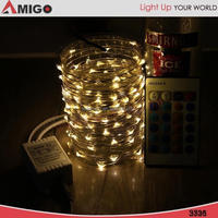 Outer Garden Decorative led string lights at home depot with Battery