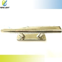 Made in Taiwan High Quality Marine 6 inch Precision Mirror Polished stainless steel 316 marina cleat