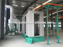 Multi Cyclone Electrostatic Powder Spray Coating Booth with Reciprocator