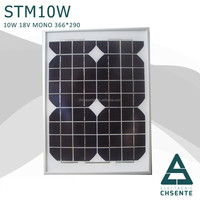 China manufacturer mono and poly price per watt solar panel 10w