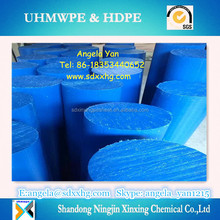Engineering plastic unbreakable black UHMWPE drilled rods