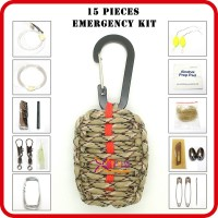outdoors and camping emergency preparedness list for sale