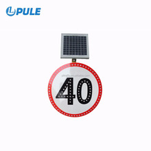Factory solar emergency signal lamp board traffic security yard sign bike light energy saving lamp