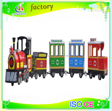 China playground equipment amusement park trackless train for sale