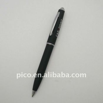 High End Customized Logo Cheap Rubber Painted Metal Ballpoint Pen For Promotion