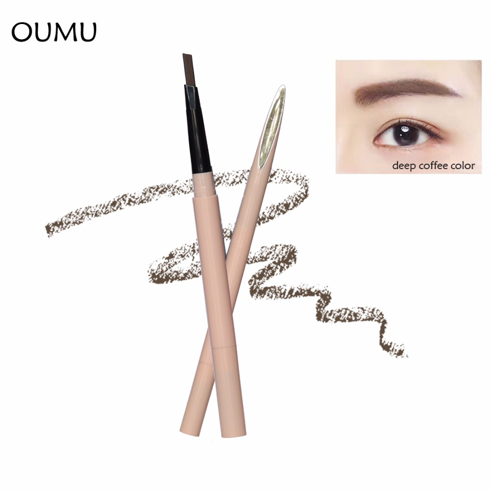 high quality automatic eyebrow pencil eye brow pencil with brush eye brow makeup ODM/OEM Cosmetics manufacturers