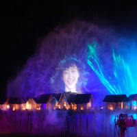 Large Outdoor High Definition Water Screen Movie Fountain and 3d Laser Show