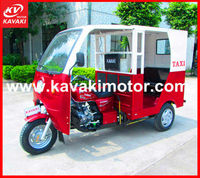 Bajaj passenger three wheels tricycle/ taxi tuk tuk motorcycles with side doors