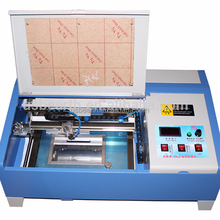LY 3020 newest 40W CO2 mini laser engraving machine with 3D axis