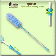 Microfiber duster home corners cleaning 180 flexible spin duster