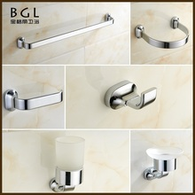 hotel sanitary ware set factory supply brass bathroom accessories set
