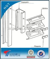 drywall studs roll forming machines highway guardrail barrier