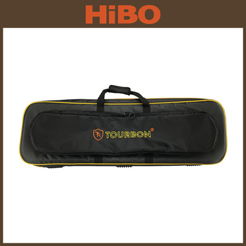 Tourbon Outdoor genuine leather Hunting Shooting tactical gun case/Rifle Gun slip for hunters