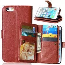 High Quality Sublimation Flip Leather wholesale cell phone case