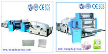 Produce Paper Making Machine Type New Condition Hand Towel Interfolding Machine
