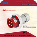 IP67 32a 230V 3P industrial male/female waterproof power plug and socket