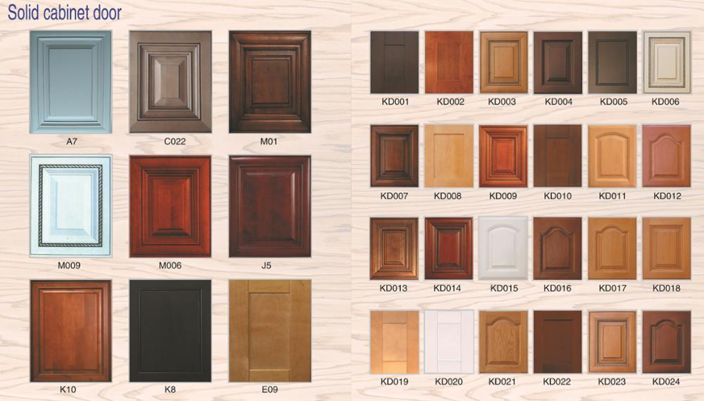 Hot sale custom kitchen and bathroom vanity wood door and glass door