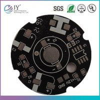 Flashing led pcb circuit board assembly