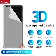 NANOEDGE Full Screen Cover Front and Back Tpu Film Note 8 Wet Screen Protector for Galaxy Note 8