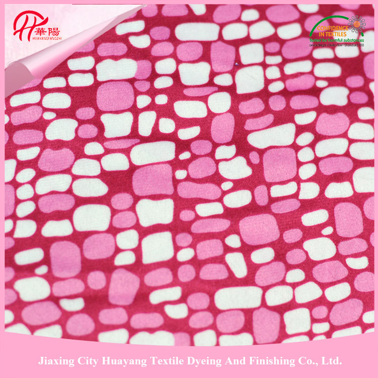 100% Polyester 28S/32S london wax print fabric