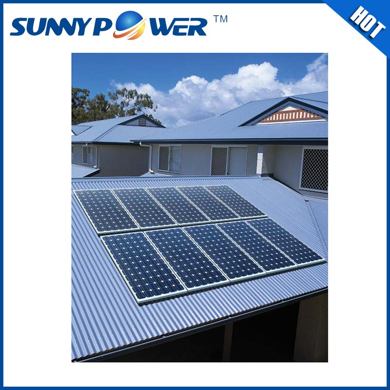 China Supplier 10kw solar power generation system