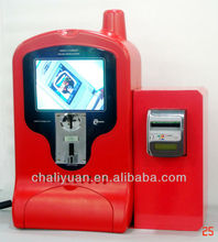 Three Payment Charge Kiosk for Mobile Phones