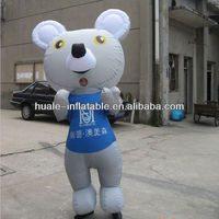 Customized inflatable big mouse/ inflatable big mouse cartoon model