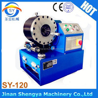SY-120 powered hydraulic hose fitting crimping machine/hose press crimper