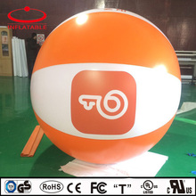 full digital print advertisement PVC inflatable hot air balloon toys