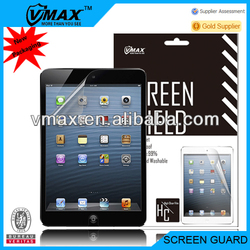 Ultra clear screen protector for iPad mini oem/odm (High Clear)