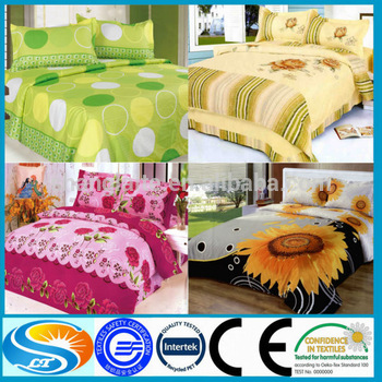 2017 new style sunflower adult bed sheets,european style bed sheets,bed sheets