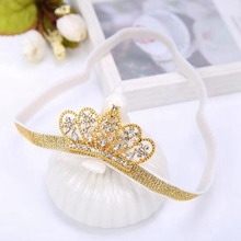 2016 New Lovely Princess Crown Headband Baby Girl Hair Accessories Tiara Infantil Elastic Hair Bands Baby Headbands Accessoires