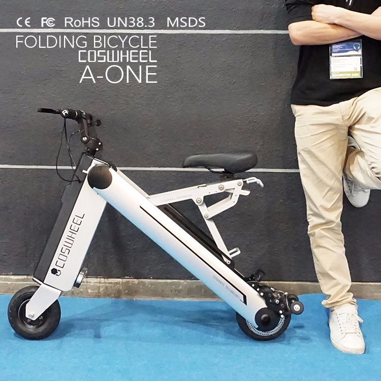 2016 best selling fashion design convenient 36V mini folding electric bike for sale