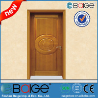 BG-SW9103 High quality teak wood main door models and solid wood door