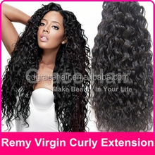 No sheeding no tangle wet and wavy indian remy hair weave hair bulk